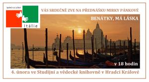 Benátky má láska Pánková pozvánka
